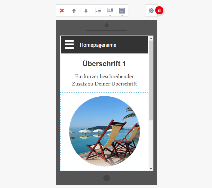 mobile-homepage-einstellungen
